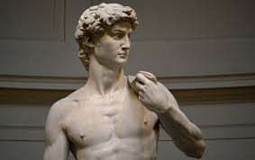 robox u0027dad bod u0027 statue is a twist on michelangelo u0027s u0027david u0027 and