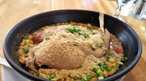 lapin de cuisine cassoulet de lapin picture of le lapin saute city