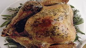 herb roasted turkey with wild simple butter rubbed roast turkey finecooking
