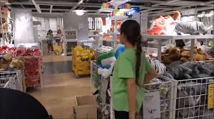 ikea marketplace taking reborn baby on outing to ikea to look for loft bed and crib