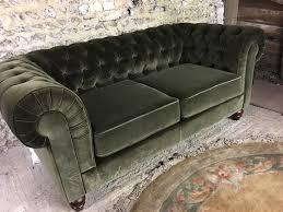 Chenille Chesterfield Sofa by Brand New Ex Demo Debenhams Small 2 Seater Chesterfield Sofa