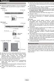home theater systems top 10 htsb38 sound bar home theater system user manual ht sb38 sec en