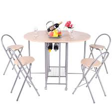 ebay dining table and 4 chairs 5pcs foldable dining set table and 4 chairs breakfast kitchen