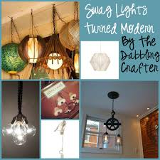 the dabbling crafter ugly house overhead lighting solutions