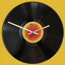 60s Clock Mamas And Papas Hits Of Gold Vinyl Clocks