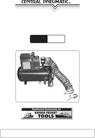 harbor freight tools air compressor 47407 user guide