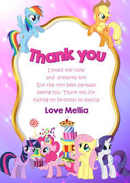 my little pony birthday party invitation template best 25 my