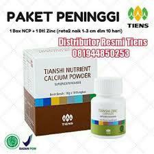 Obat Zinc harga obat peninggi badan nhcp zinc capsules tiens yang di jual