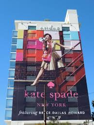 Daily Billboard  FASHION WEEK  Bryce Dallas Howard Kate Spade     Daily Billboard Bryce Dallas Howard Kate Spade billboard