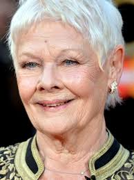 judi dench hairstyle front and back of head judi dench maintains title of coolest ever with her first tattoo at