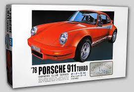 porsche 911 model kit 1978 porsche 911 turbo 1 24 arii owner s kit automobile
