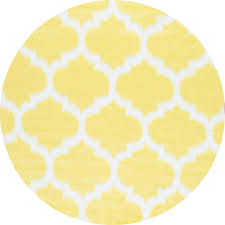 nuloom faux sheepskin shaunna yellow 5 ft x 5 ft round area rug
