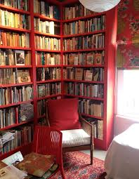 best 25 red bookcase ideas on pinterest red country kitchens