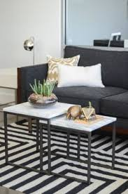 what are nesting tables how to style a coffee table in your living room decor living rooms