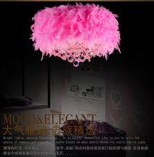 multi colored light fixture multi color feather l pendant lights children s room hanging