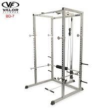 amazon com valor fitness bd 7 power rack with lat pull