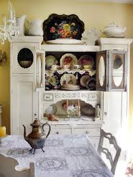 Display Dishes In China Cabinet Shabby Chic Decor Hgtv