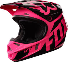 dc motocross gear fox motocross fox v1 race kids mx helmet clothing pink fox bmx