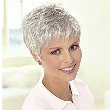 photos ofpixie hairstyles 50 60 age group nice short pixie grey wigs for women over 50 hair pinterest