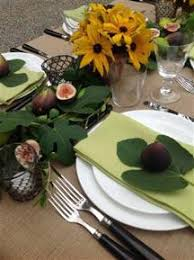 autumn table setting done for me by michael grimm at bridgehton