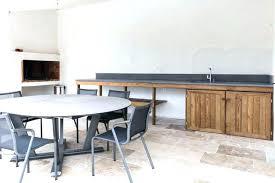 meuble cuisine d été meuble bois massif contemporain meuble cuisine d ete cuisine dactac