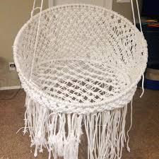 make a macrame hanging chair u2013 home decoration