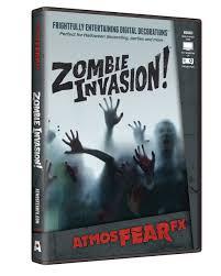 zombie invasion tv halloween effect dvd to buy horror shop com