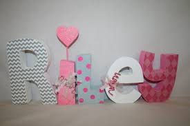 nursery wooden wall letters for nursery baby name letters wood