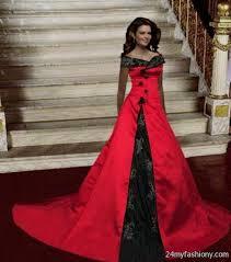 Red And Black Wedding Red And Black Wedding Dresses 2016 2017 B2b Fashion