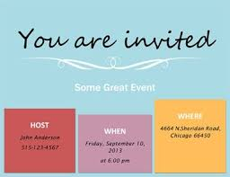 10 best free printable invitations online images on pinterest