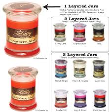trinity candle factory premier soy jar candles