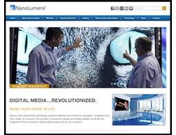 design magazine site nanolumens design specification calculator on web site sign