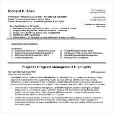 project director resume template program management resume u2013 foodcity me