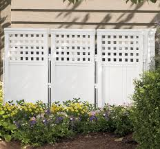 Outdoor Patio Windscreen by Outdoor Privacy Screen Enclosure Suncast Porch Patio Fence White