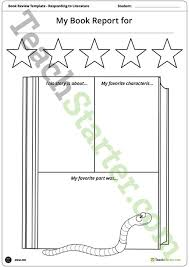story report template book worm themed book report template and poster teaching