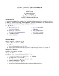 Resume Examples Student by Internship Resume Template Tristarhomecareinc