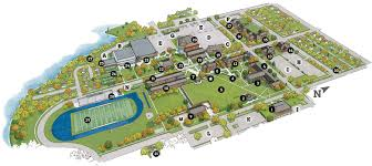 Mall Of Louisiana Map by Campus Map Buena Vista University