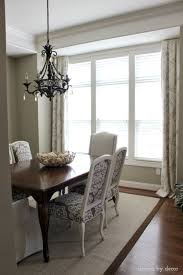 Dining Room Drapes Window Treatments For Those Tricky Windows Driven By Decor