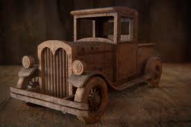 wooden truck toy old wooden toy truck