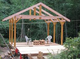 Pergola Post Design by Covered Deck Addition Design Want Some Coveredshaded Space And