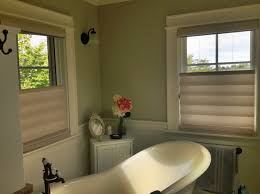 hunter douglas vignette tiered roman shade with top down bottom up