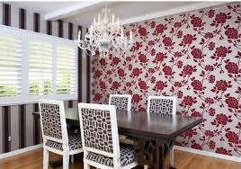 wallpaper for dining rooms design ideas
