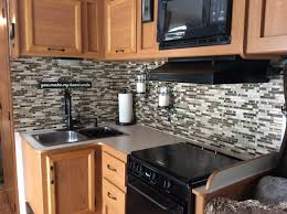 we installed these beautiful smart tiles peel and stick backsplash