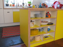 White Laminate Kitchen Cabinets Yellow U0026 White Laminated Birch Plywood Kitchen Pinterest