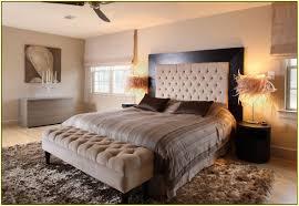 Linen Upholstered King Headboard with Bedroom Interesting Bedroom With Linen Tufted Upholstered King