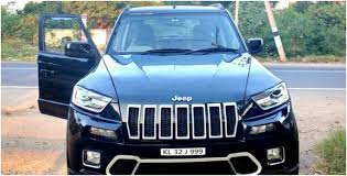 jeep modified wheelmonk mahindra tuv 300 modified to look like a jeep cherokee