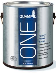Interior Flat Paint Olympic One Paint Review