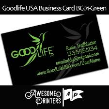 Kyani Business Cards Goodlife Business Cards And Marketing Material