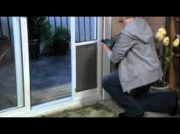 petsafe deluxe patio panel pet door installation youtube