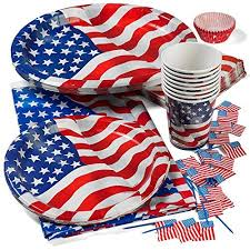 4th Of July Party Decorations Fourth Of July Party Supplies Amazon Com